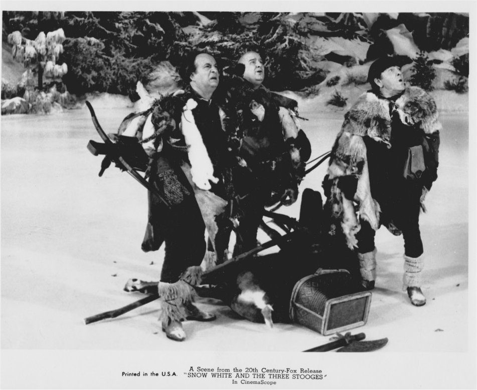 LARRY CURLY JOE AND MOE ENCOUNTER QUEEN ON HER BROOMSTICK  sc 1 st  Filmic Light & Filmic Light - Snow White Archive: Snow White and the Three Stooges
