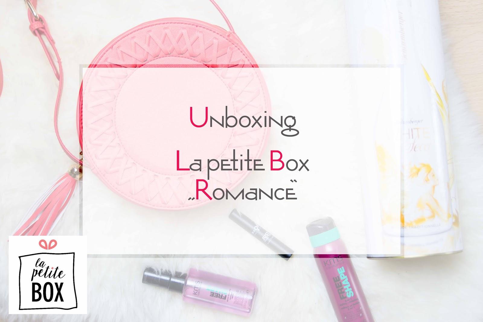 Unboxing La petite Box Februar Romance Titelbild