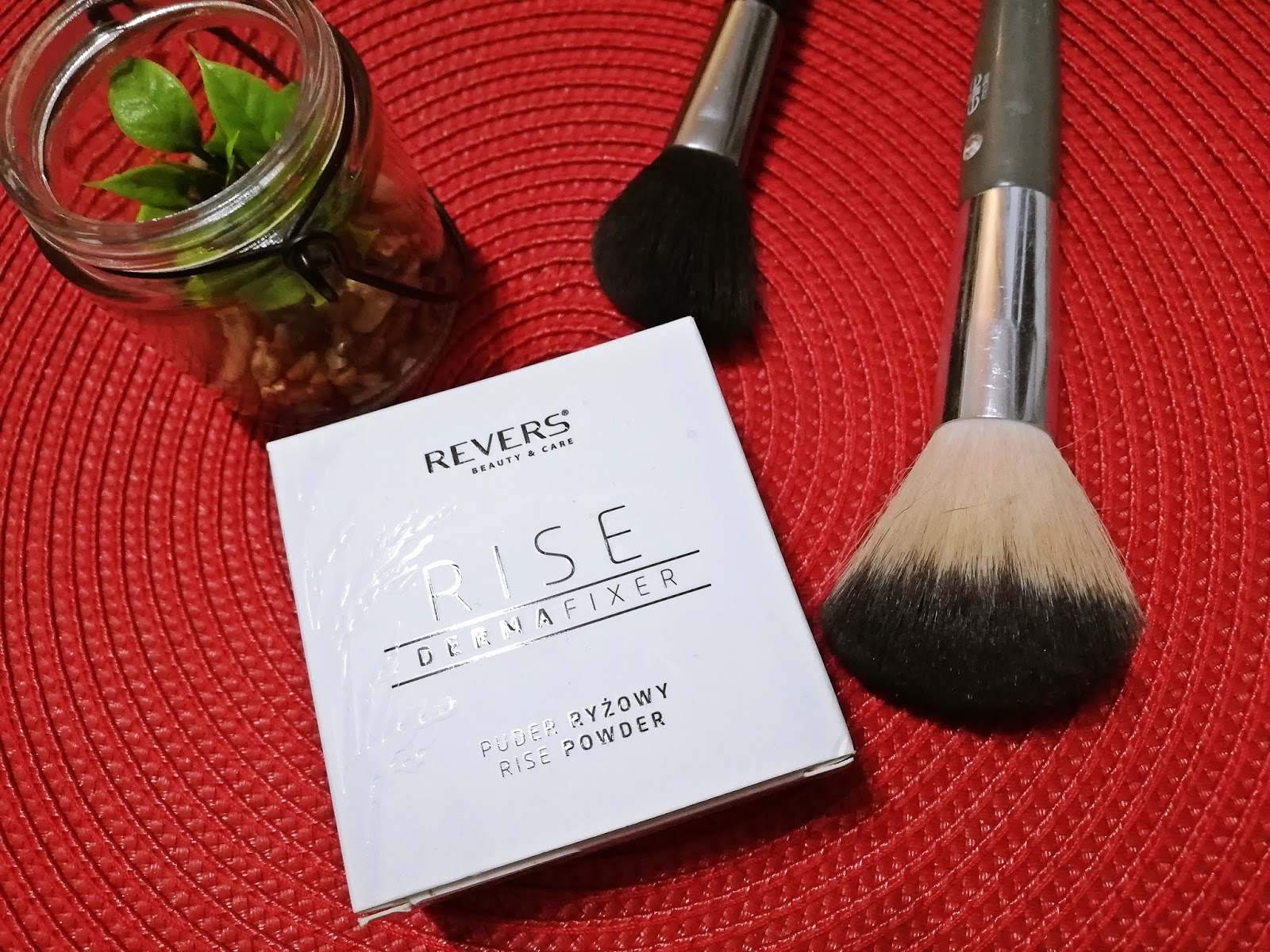 Puder ryżowy | Revers Cosmetics