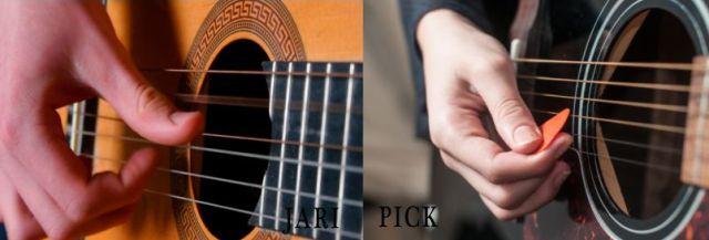 cara mudah memetik senar gitar