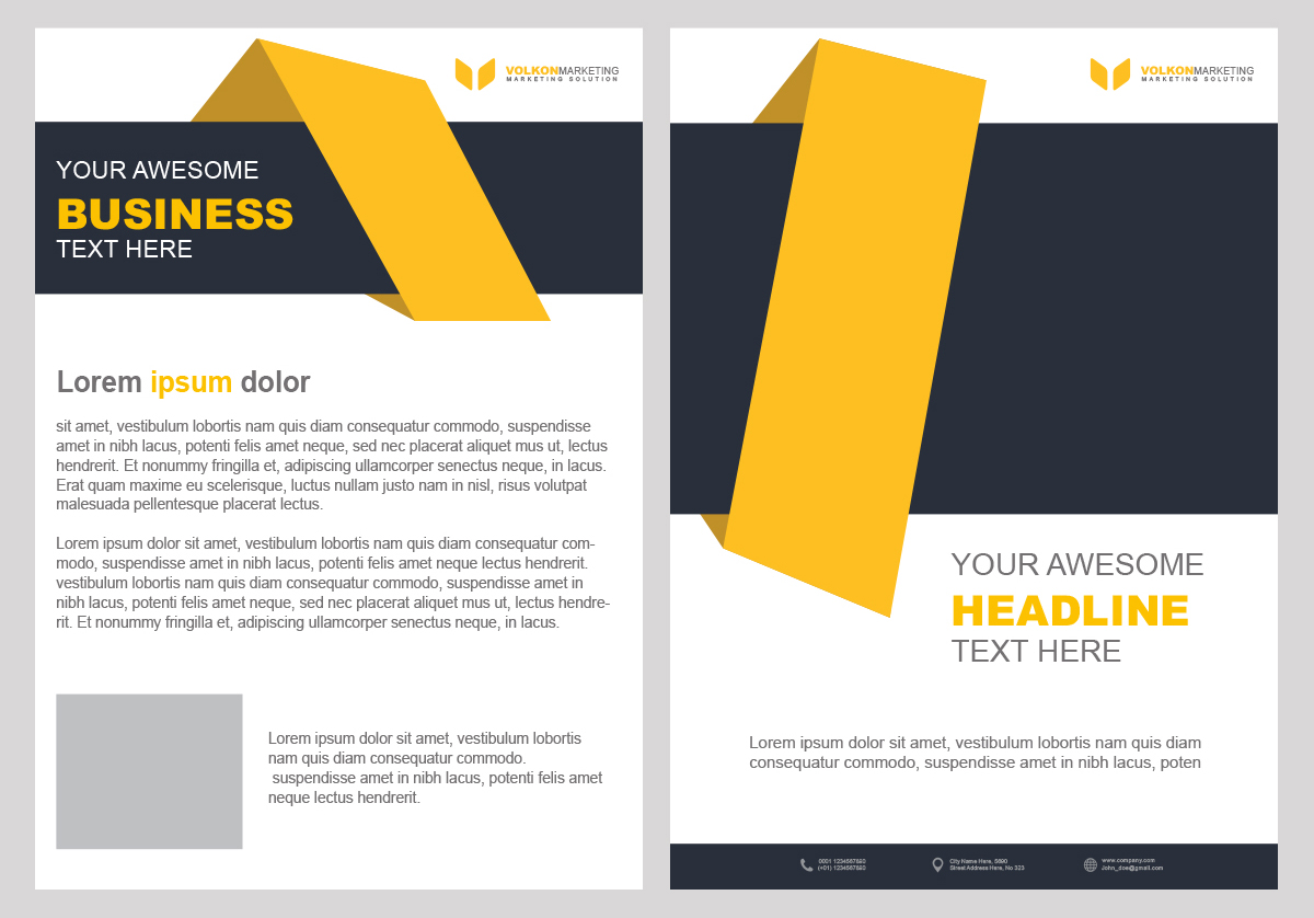 Creative brochure design psd template free downloads for for Creative brochure templates free