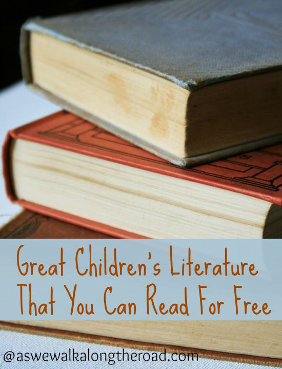 A collection of great children's literature that can be found for free in the public domain