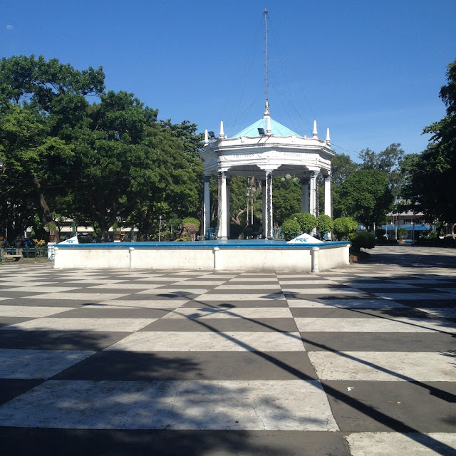 The gazebo at the Bacolod City Plaza