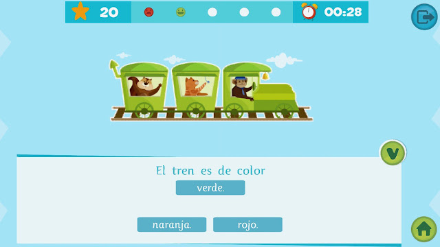 Apps educativas para niños. La biblioteca inteligente de Smile and learn