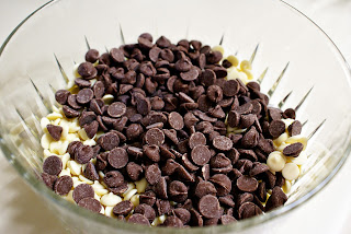 Chocolate chips for Dreamy Chocolate Truffles