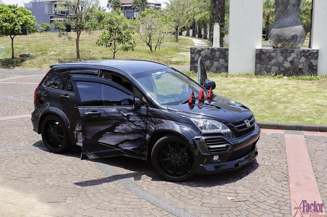 Kontes Modifikasi Mobil Honda CRV Terbaru