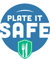 Plate it Safe Logo for food safety