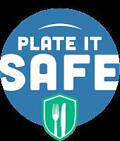 Plate it Safe Logo for food safety