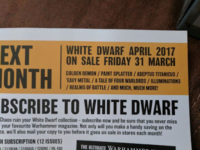 White Dwarf marzo