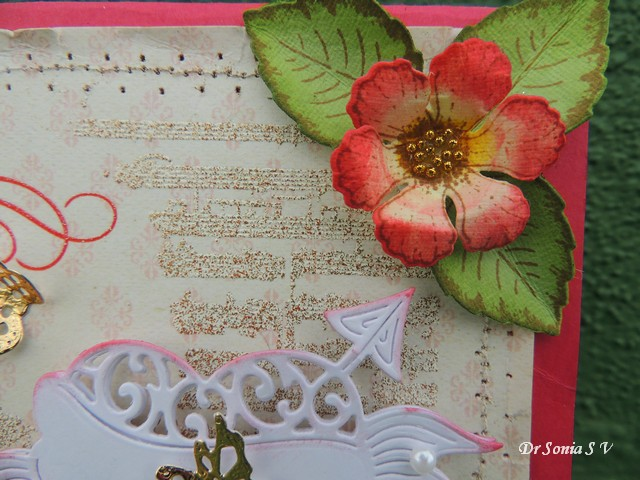 Cards crafts kids projects simple handmade flowers card for Handmade paper creations