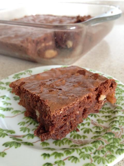 brownies chocolat noir noix Bernachon