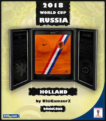 PES 6 Holland FIFA World Cup 2018 Home Kit