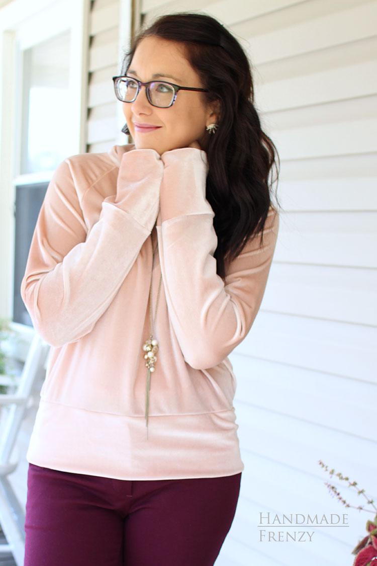 Velvet Toaster Sweater #1 // Sewing For Women