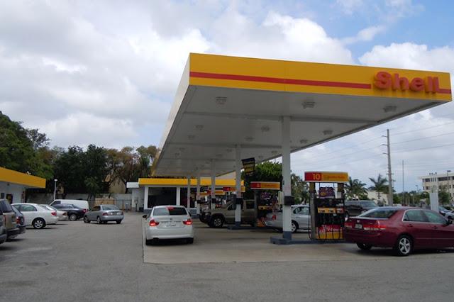 Postos de gasolina em Miami e Orlando