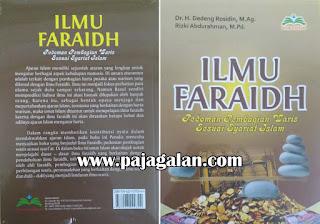 Buku Ilmu faraidh - Pedoman Pembagian Waris Sesuai Syariat Islam karya Dr. H. Dedeng Rosidin, M.Ag dan Rizki Abdurahman, M.Pd