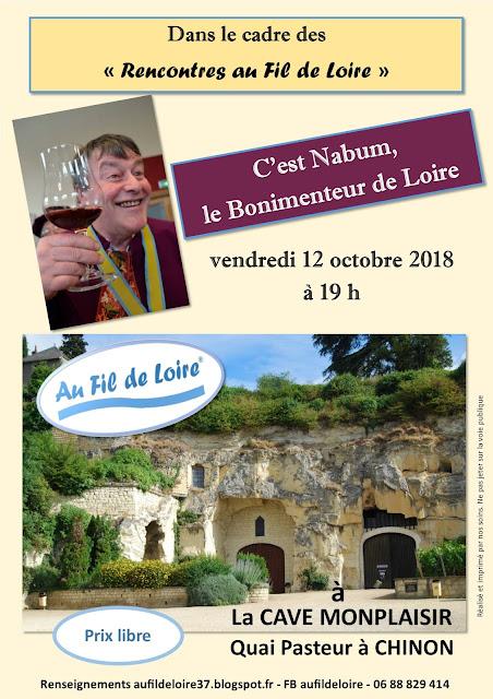 C'est Nabum à la Cave Monplaisir avec Au Fil de Loire
