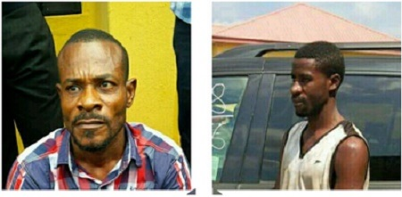 See the Two Heartless Men Who Burnt Down an Office Killing 2 People in Abia (Photos)