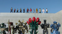 The Zyuohgers and Ninningers united