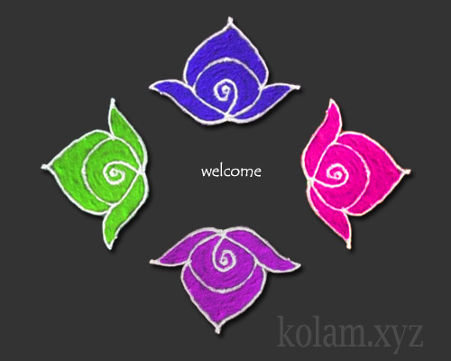 simple kolam designs and patterns