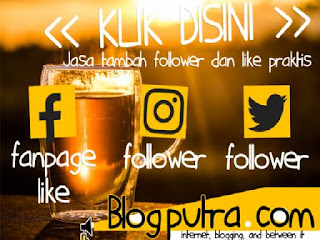 Jasa Like Dan Followers Terpercaya Blogputra