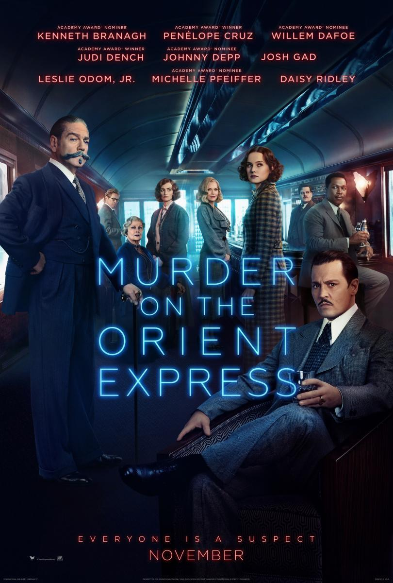 Murder On The Orient Express (BRRip 720p Dual Latino / Ingles) (2017)