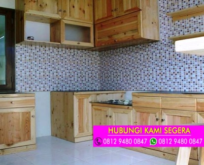 Jasa Kitchen Set Jati Belanda Bsd Serpong 0812 9480 0847 Kitchen