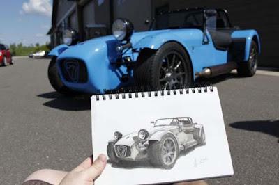 Εκπληκτικά σκίτσα αυτοκινήτων που εντυπωσιάζουν!