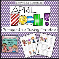 Perspective Taking Fun Freebie- Looks Like Language