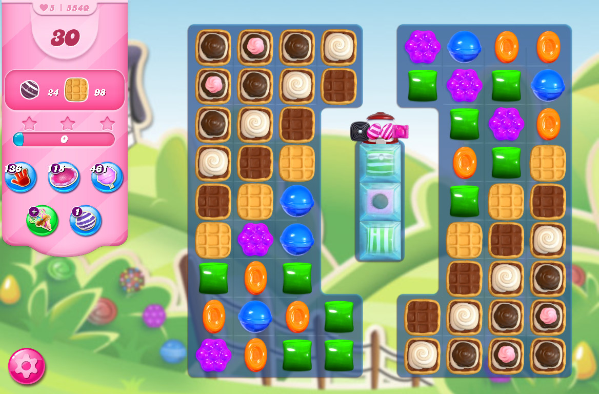 Candy Crush Saga level 5540