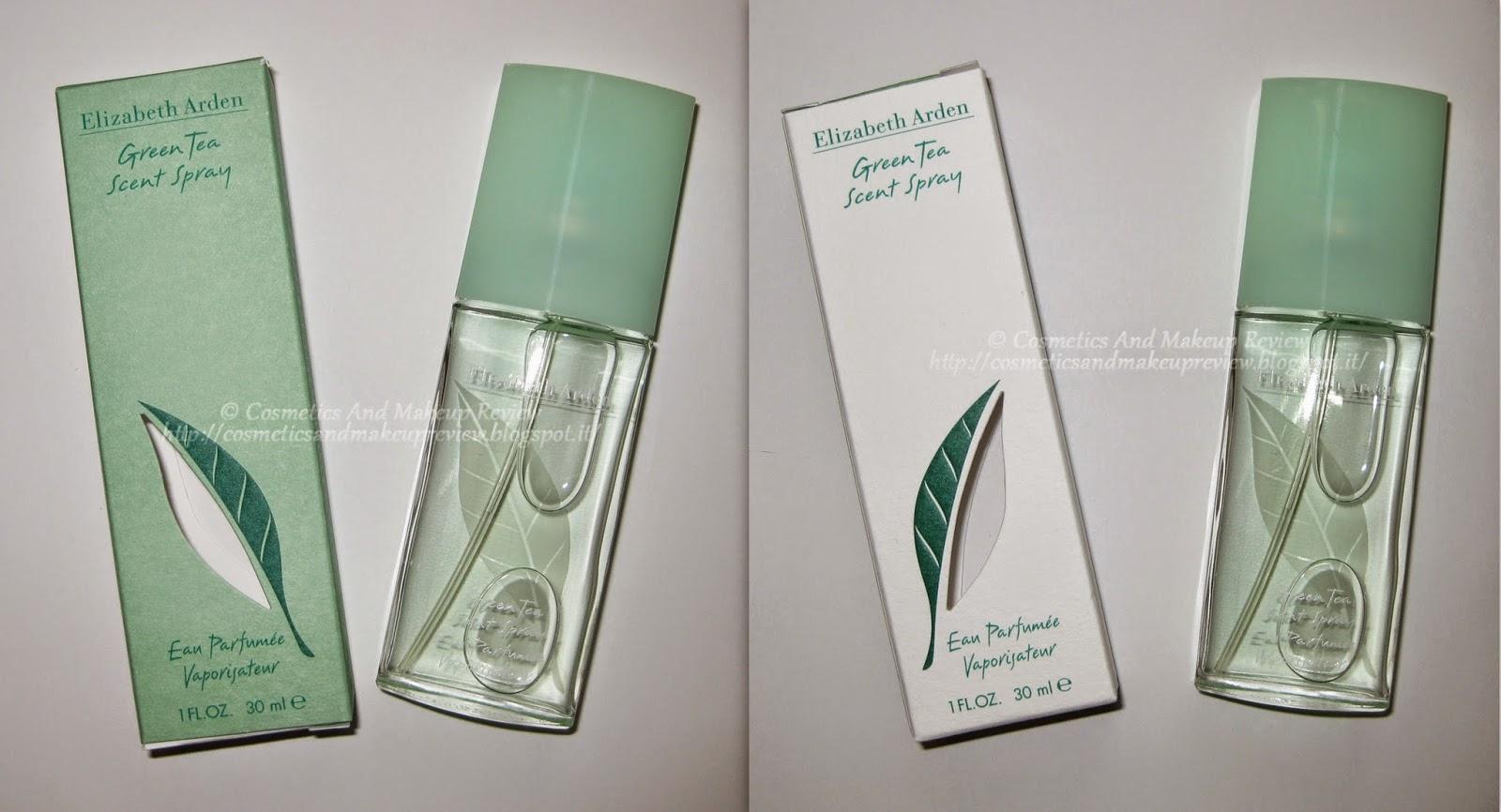 Elizabeth Arden - Green Tea Scent Spray - Eau Parfumée Vaporisateur - descrizione