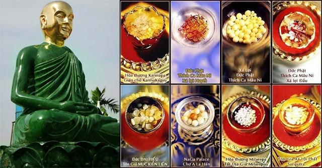 Ngọc Xá Lợi Phật là một dạng vật chất bí ẩn được hình thành qua tu luyện