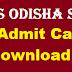 Download CT Admit Card 2019 Odisha here