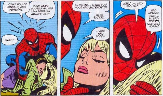 Gwen Stacy morre Homem-Aranha duende verde norman osborn