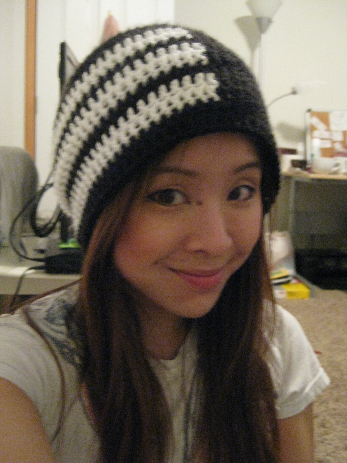 c9499590d0f Live. Love. Laugh.  Soul Eater  Death the Kid Beanie Slouch (Pattern)