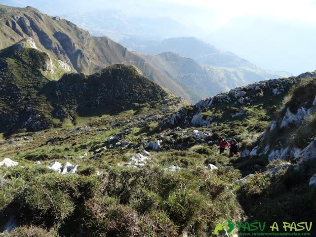 Subiendo al Pico Paisanu