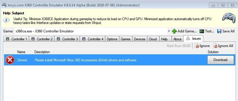 X360ce alpha