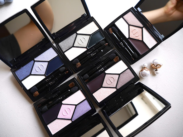 Dior 5 Couleur Designer 308 Khaki Design Palette review swatch