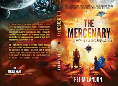 The Mercenary, Petra Landon, Cover Reveal, Featured Title