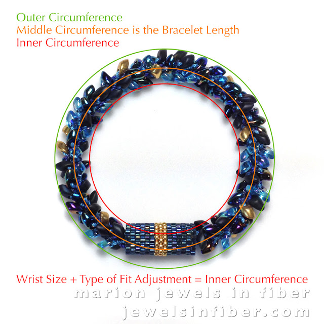 Bracelet Length versus Wrist Size