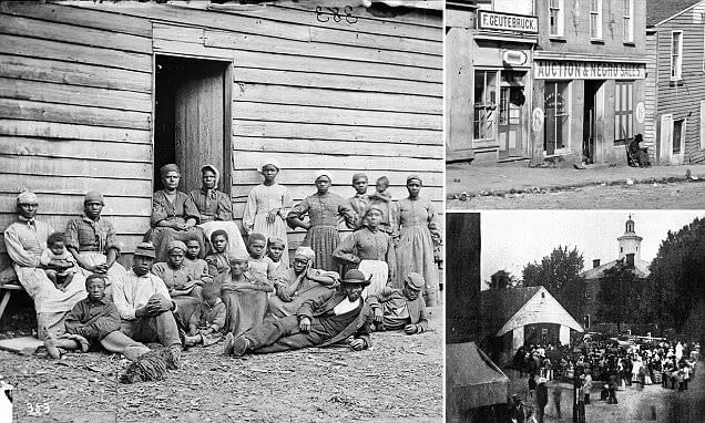 Shocking Pictures Demonstrate The Slave Auctions And How Businessmen In America Were Selling People