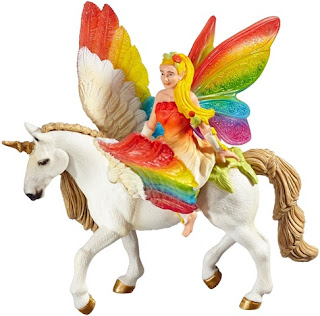 Unicorn With Wings And Rainbow Rainbow Unicorn...