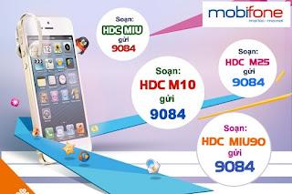 Hướng dẫn đăng ký gói cước 3g 120k tháng của Mobifone
