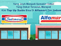 Cara Top Up Saldo Via T-CASH di ALFAMART dan INDOMARET