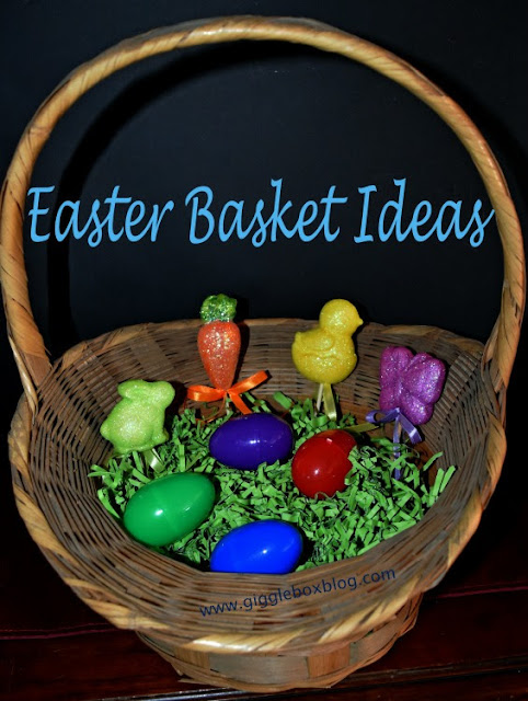 Easter baskets, themed Easter baskets, Easter basket ideas, themed Easter baskets and what to put in them, Easter,