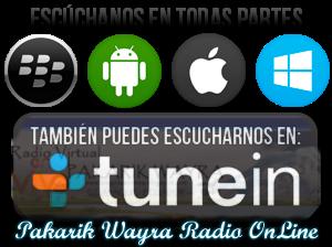Escuchar en celular Pakarik Wayra Radio OnLine