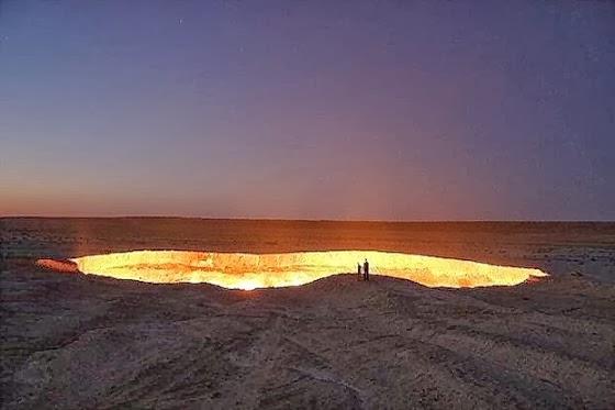 Η πύλη της κολάσεως στο Τουρκμενιστάν [Βίντεο]