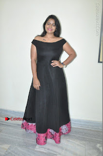 Telugu Actress Swathi Reddy Latest Stills in Black Gown  0089.JPG