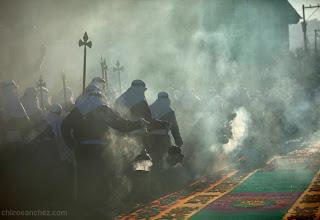 Fotografías y sonidos de la semana santa antigueña. Fotografía por Chico Sanchez