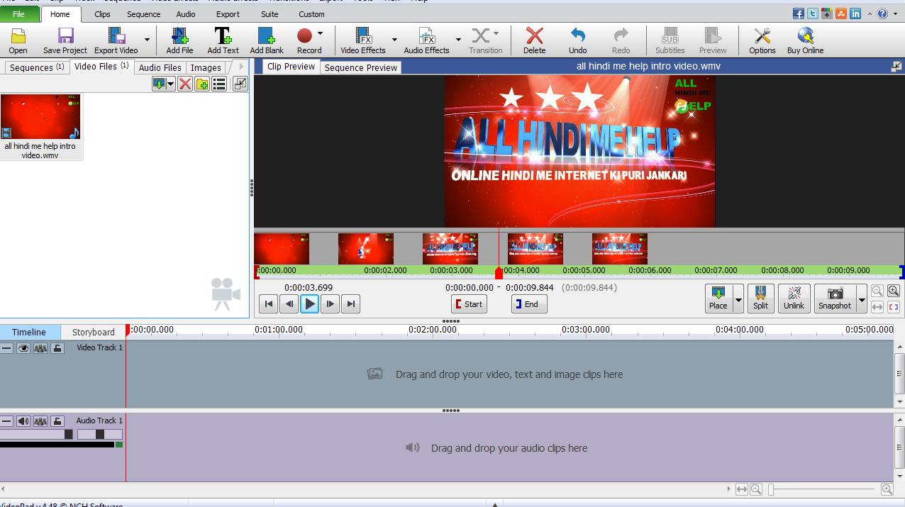 Computer Ke Liye 10 Free Video Editing Software 2018