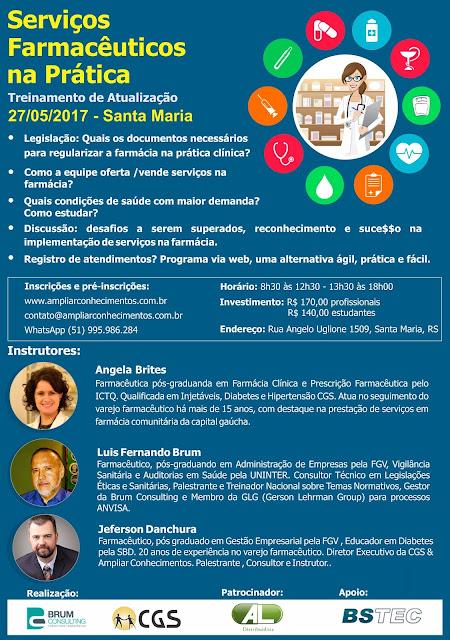 Serviços e Procedimentos Farmacêuticos - Santa Maria RS